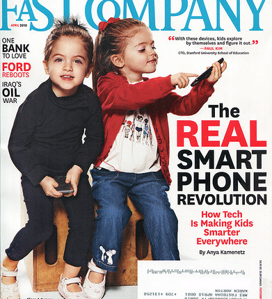 Fast Company magazine cover: April 2010 © by karen horton