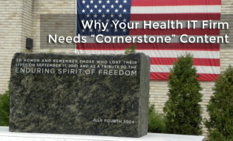 Why your Health IT firm needs cornerstone content